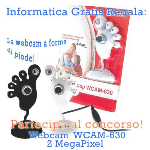Informatica Gratis Webcam 2megapixel