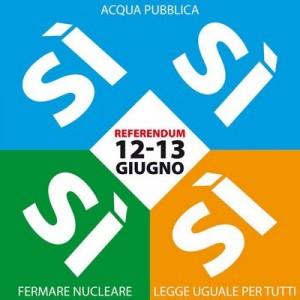 Referendum 12 e 13 giugno 2011: Vota SI !