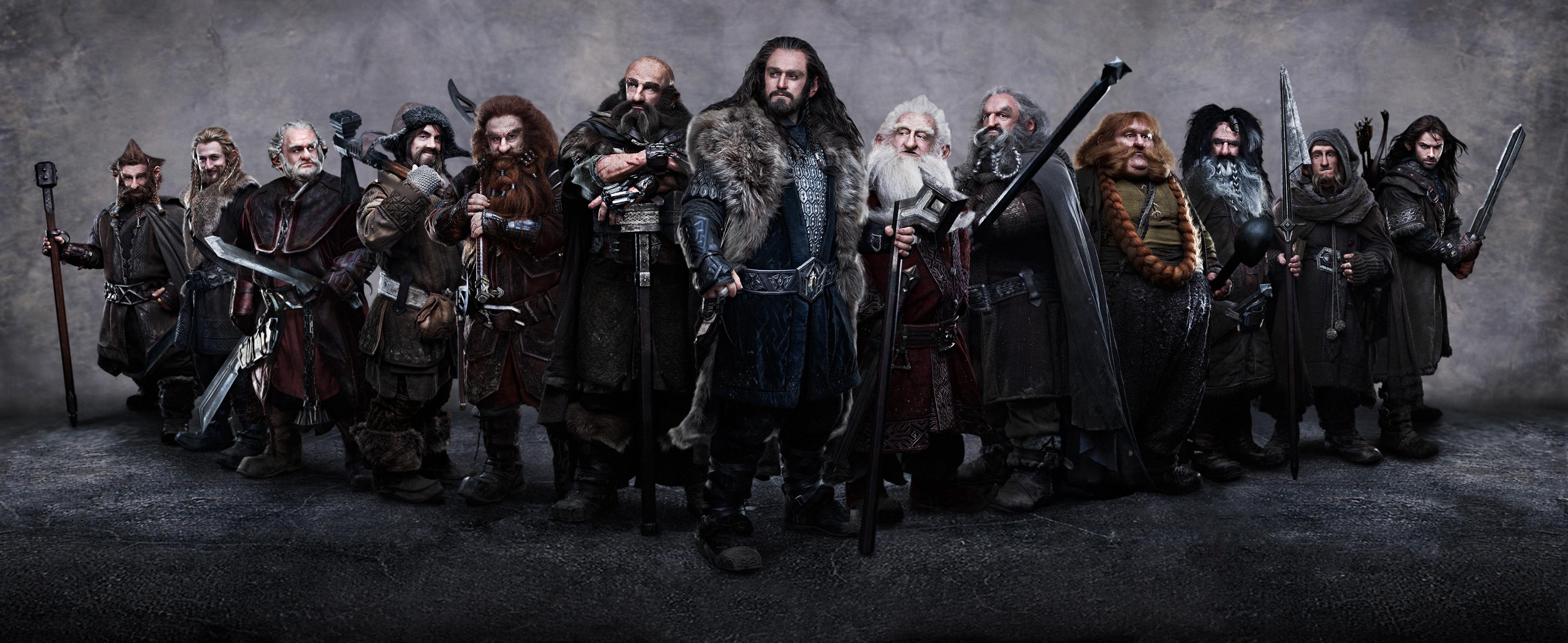 Lo Hobbit: tutti i Nani protagonisti!