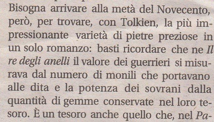 Corriere della Sera: articolo su Tolkien totalmente errato