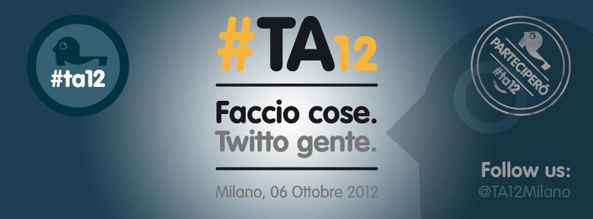Ai Tweet Awards #TA12 faccio cose e vedo gente!