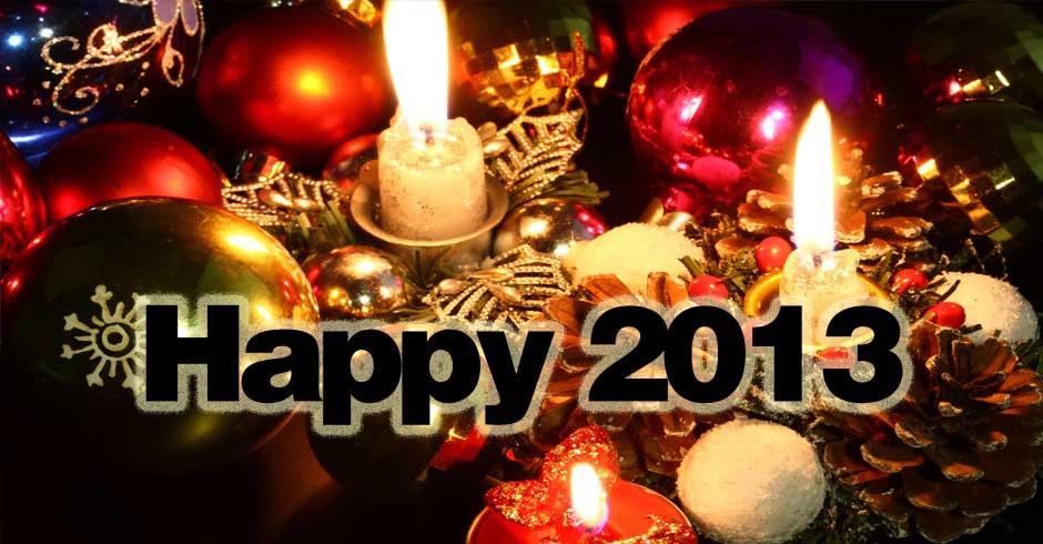 Buon e Felice Anno Nuovo 2013
