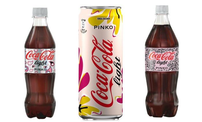 #GlamTaste: Pinko firma la nuova limited edition di Coca Cola