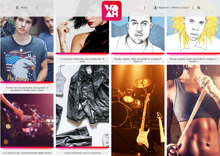 Coca-Cola lancia WOAH, l'App e sito ideato per i giovani