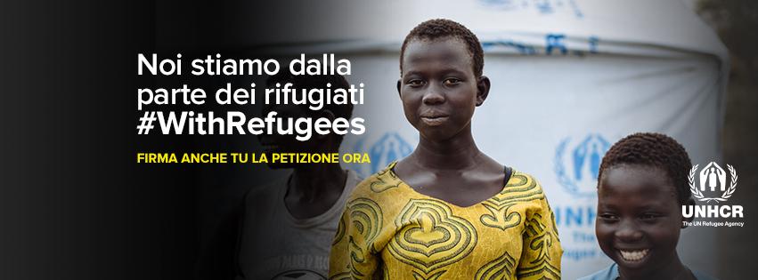 #WithRefugees: il 20 giugno la Giornata Mondiale del Rifugiato