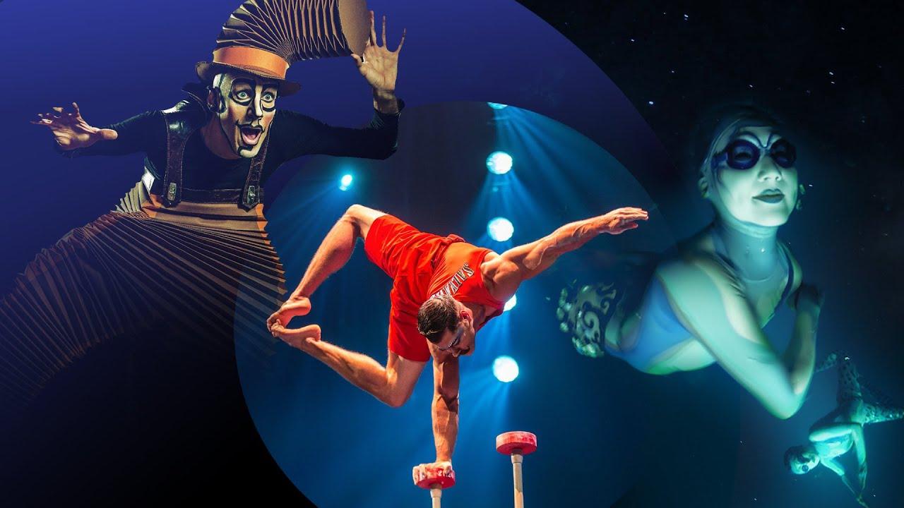 Il Cirque Du Soleil offre spettacoli da guardare in casa con #CirqueConnect